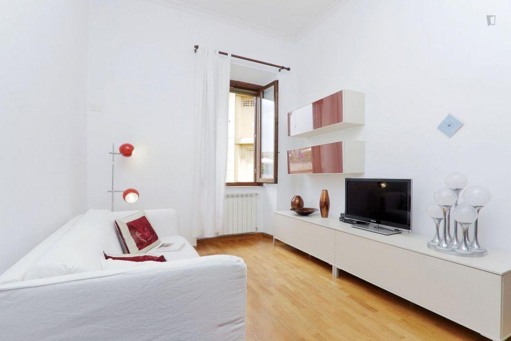 Inviting 1-bedroom flat near Ottaviano metro station