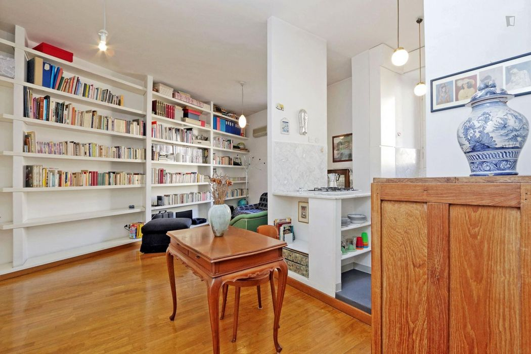 1-Bedroom apartment next to the lovely Villa Borghese