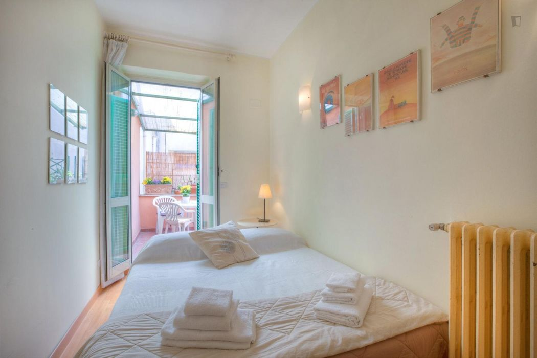 Amazing 1-bedroom apartment near Villa Borghese