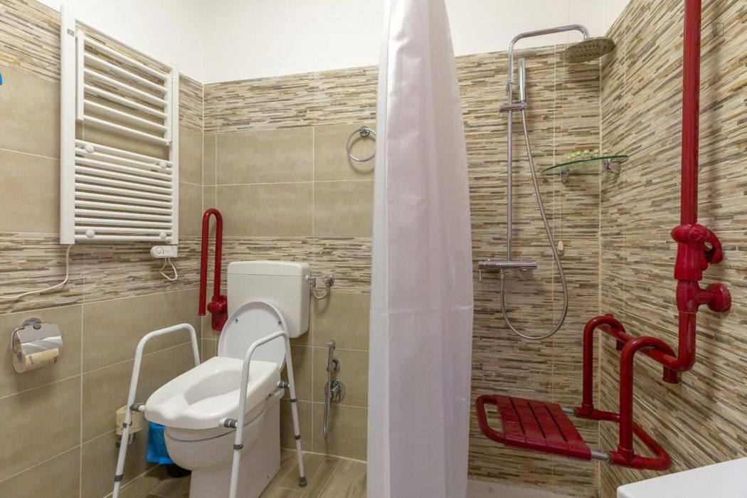 Compact studio apartment in Trastevere