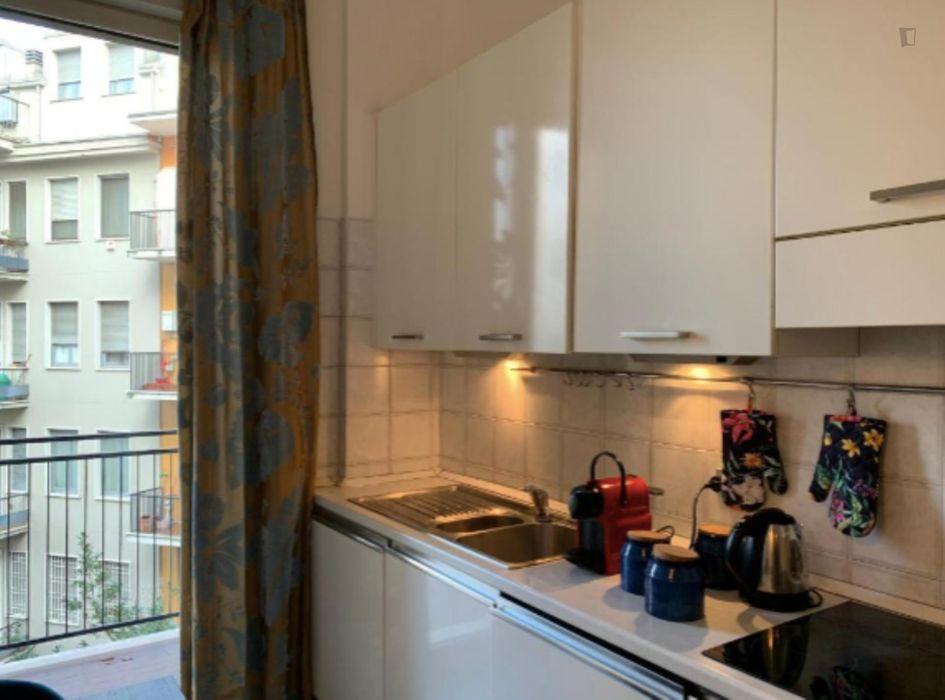 Nice 1-bedroom apartment near Università degli Studi di Milano