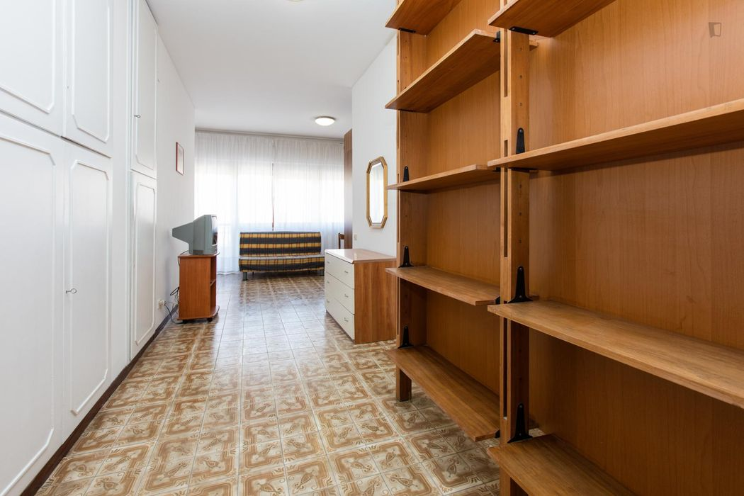 Attractive studio near Roma Balduina train station