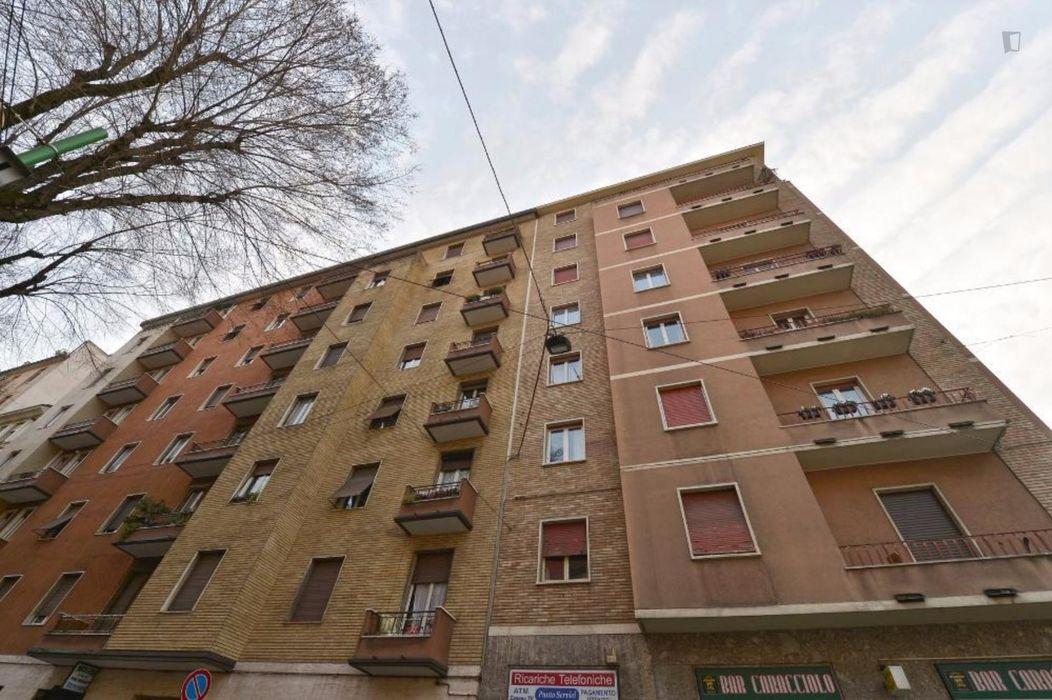 Welcoming apartment bordering Simonetta