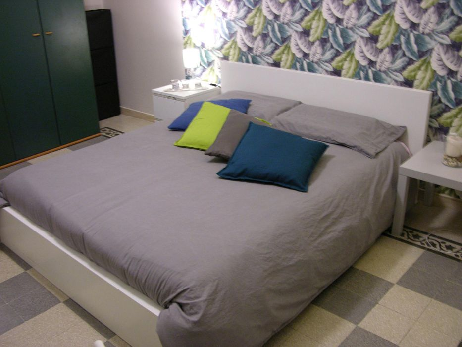 Elegant double bedroom in a 4-bedroom flat, in Piazza Bologna very close to Sapienza University