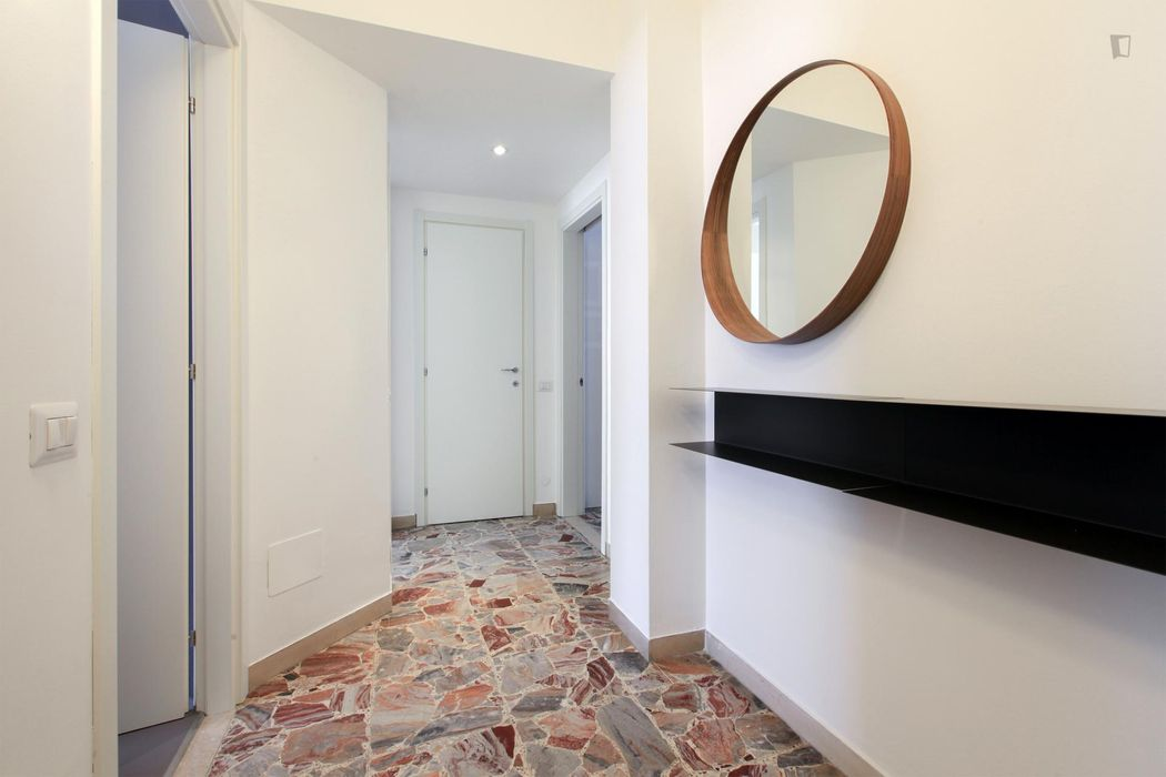 Very posh 1-bedroom apartment in residential Lambrate