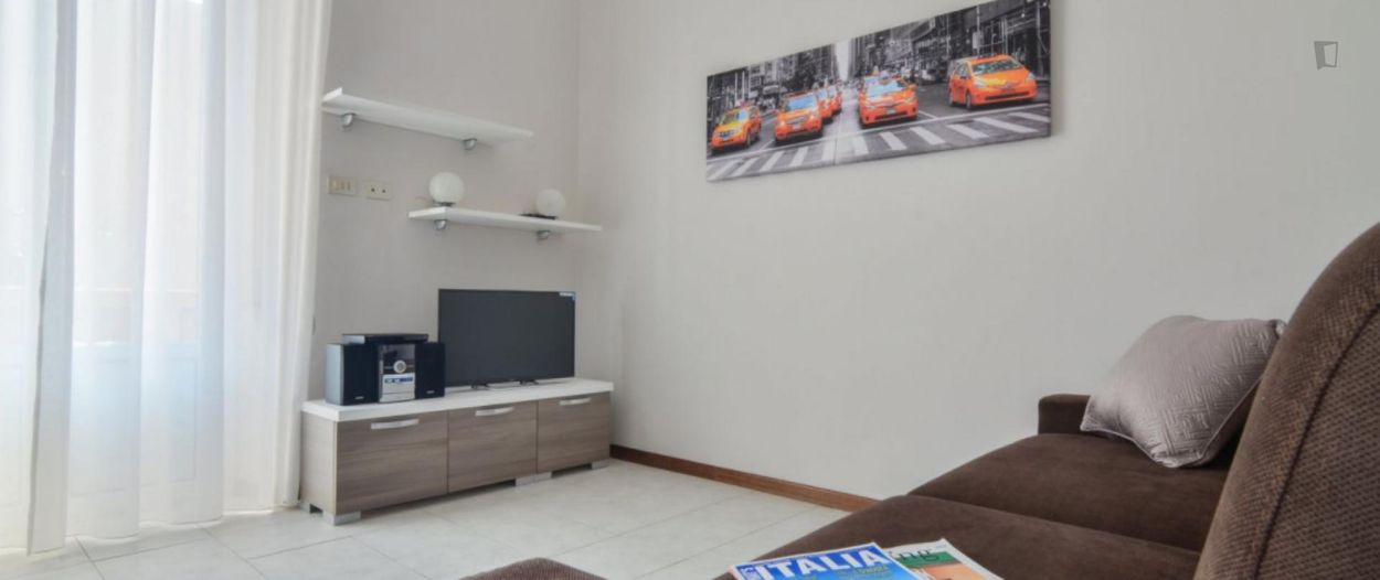 Lovely 2-bedroom apartment close to the Maciachini metro station