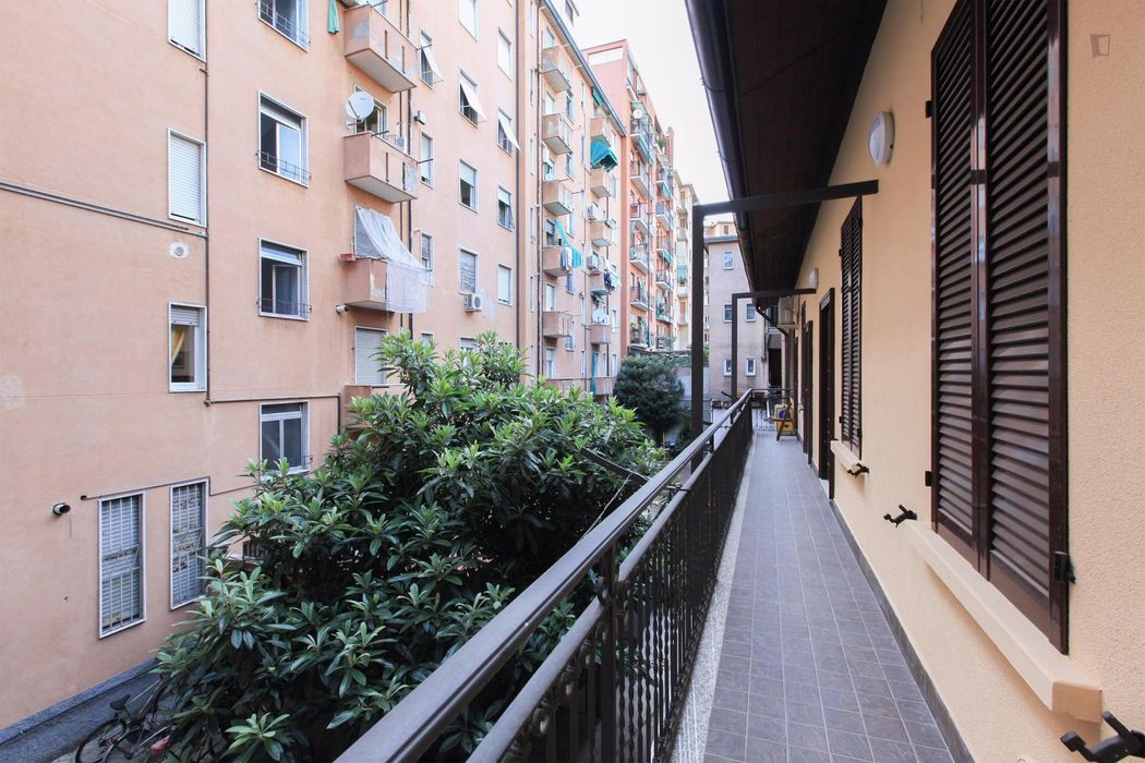 Really appealing 1-bedroom apartment in Bicocca