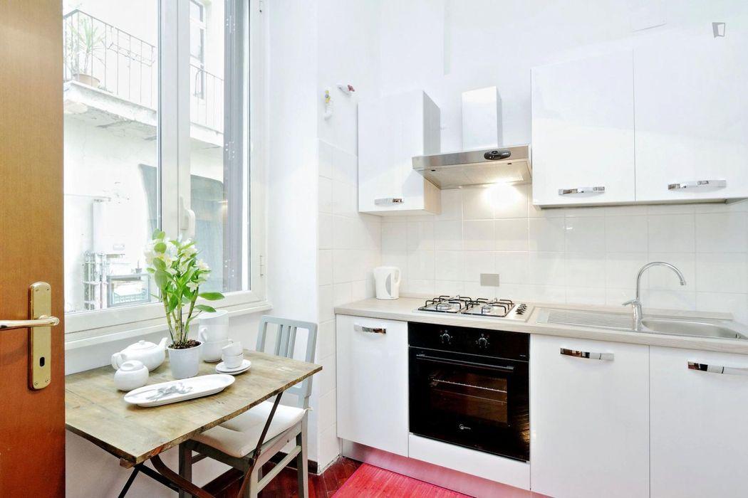 Charismatic 1-bedroom apartment in Esquilino