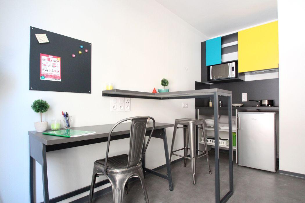 Student accommodation photo for Résidence Suitétudes Le 124 in Université d'Aix-Marseille, Marseille