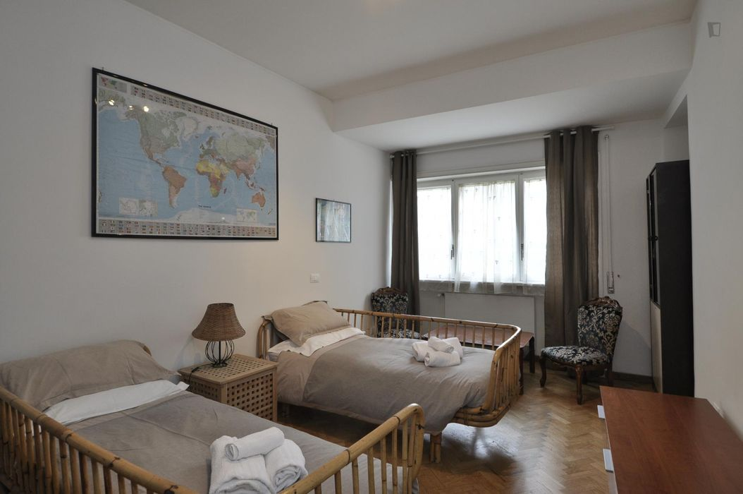 Comfy double bedroom close to Baldo Degli Ubaldi metro station