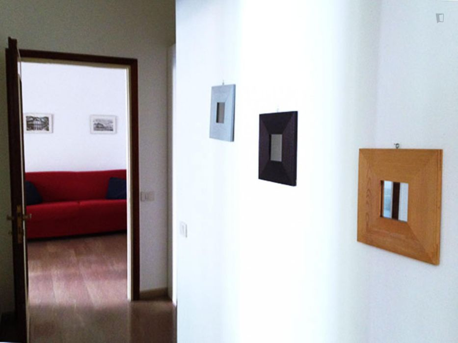 Elegant 1-bedroom apartment in Bicocca