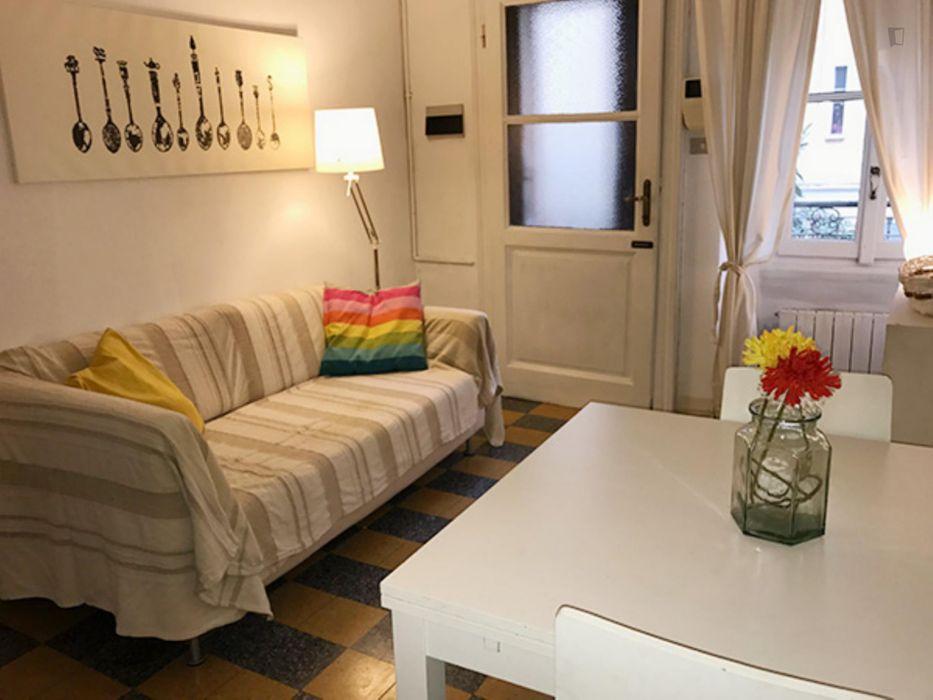 Comfortabel 1-bedroom flat in Sempione