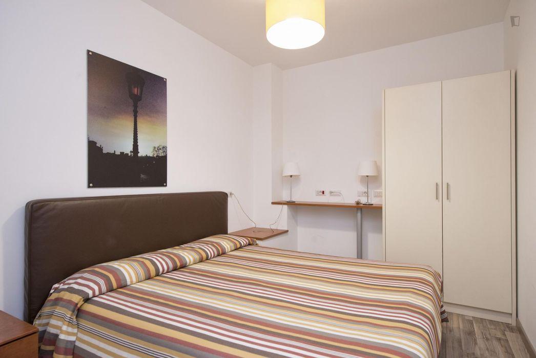 Humble 2-bedroom apartment close to Garbatella metro station