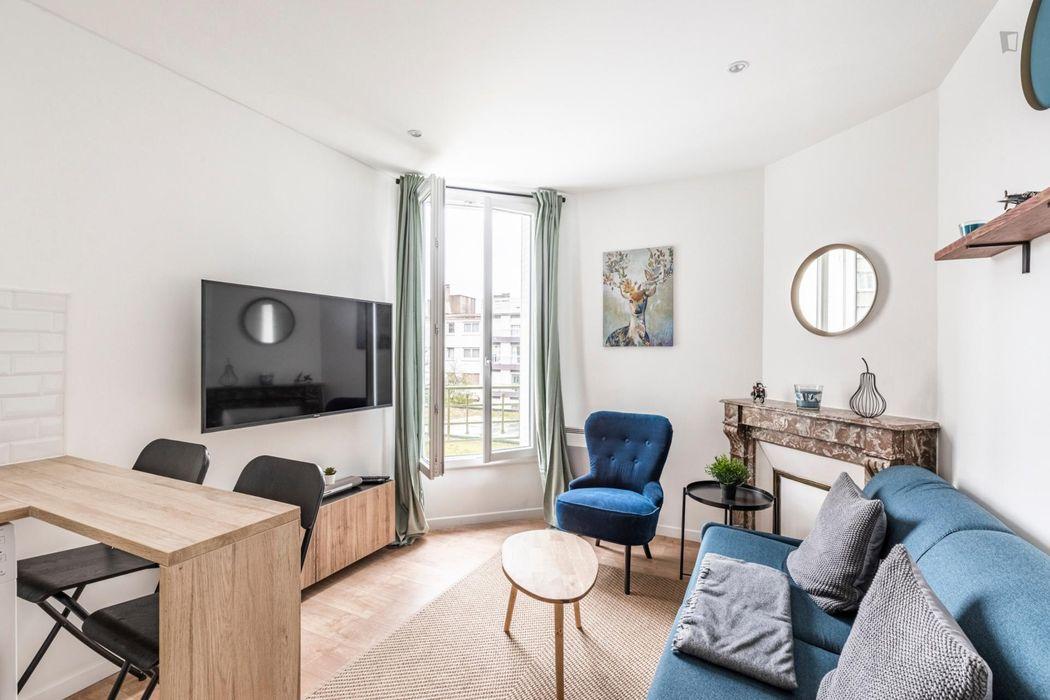 1-Bedroom apartment in Courbevoie