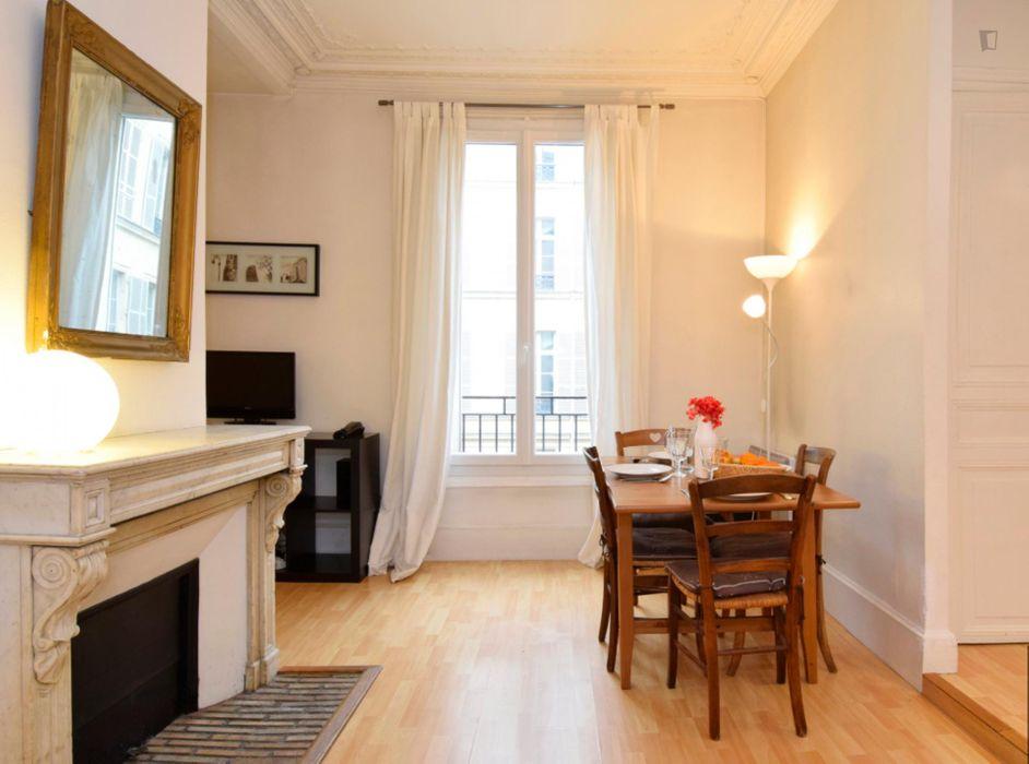 Lovely studio in the posh Palais-Royal neighbourhood