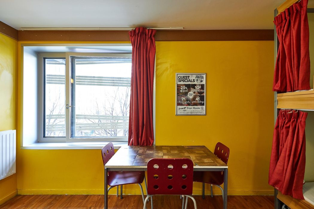 Single bed in a 10-Bed Dorm in a residence near Riquet metro stop
