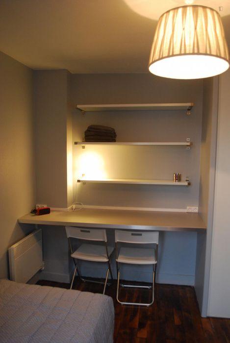 Pleasant studio apartment near INSEEC Business School