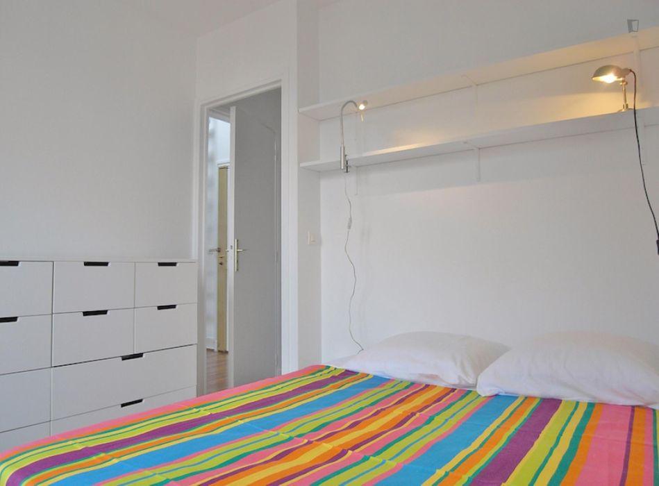 Awesome 1-bedroom apartment close to Institut supérieur d'électronique de Paris