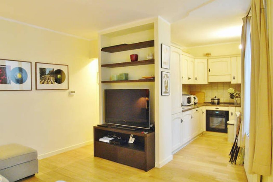 Pleasant 1-bedroom apartment near Pierre And Marie Curie University