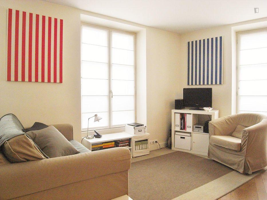 Lovely 1-bedroom flat near Faculté de Sciences - Évolution des Êtres Organisés