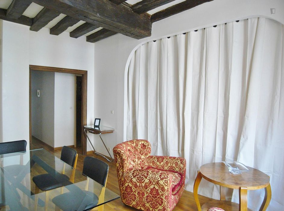 Elegant 1-bedroom flat near Musée du Louvre