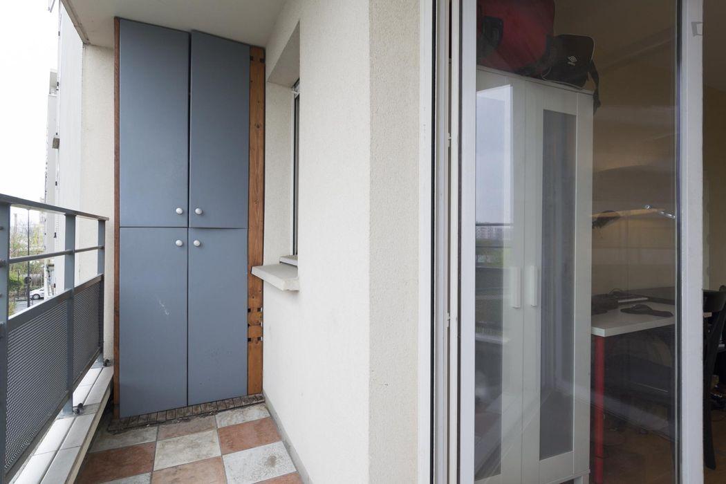 Pleasant single bedroom neighbouring Alfortville