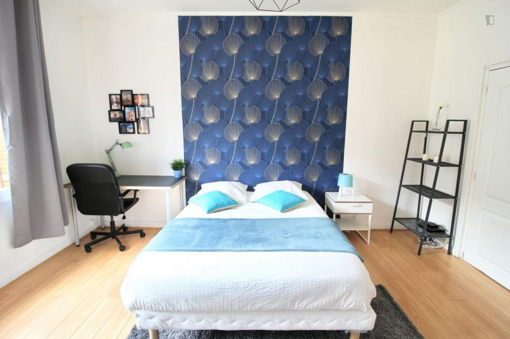 Admirable double bedroom in Beaugrenelle