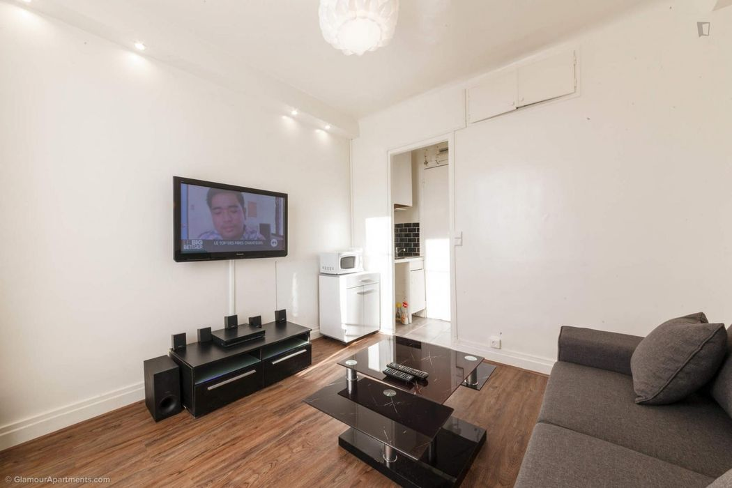 Ample studio in the 12th district