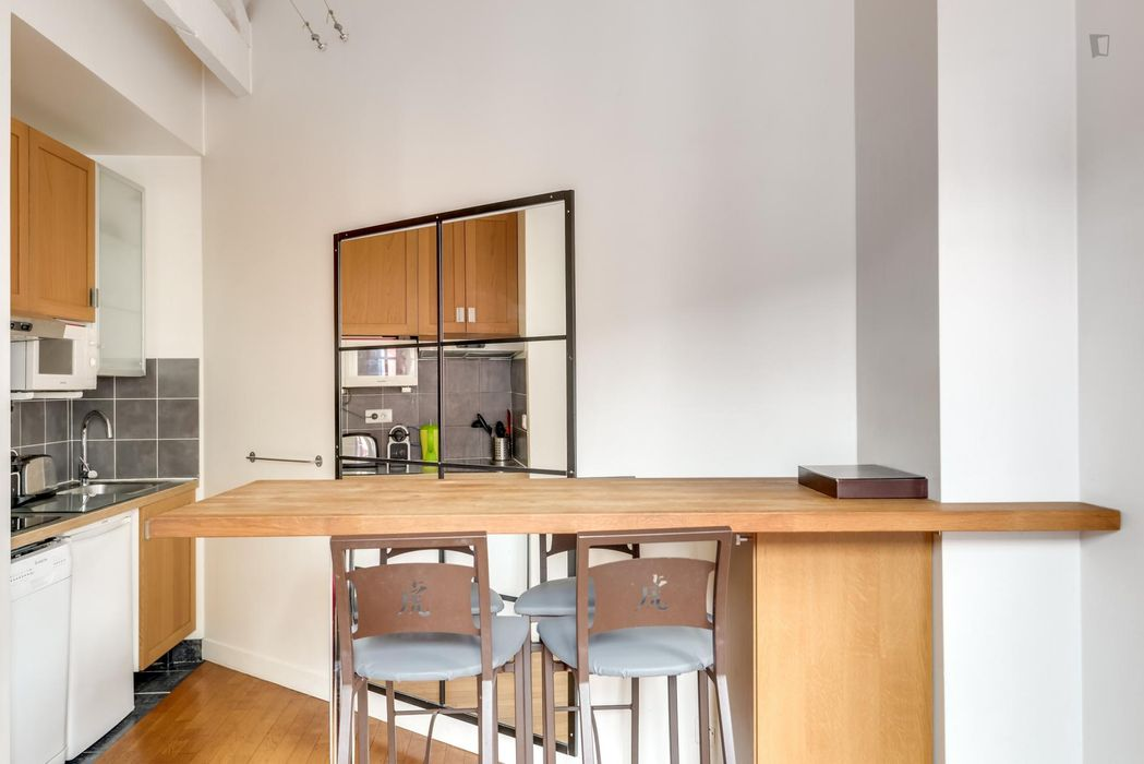 Superb apartment ideal for 2 close to Buttes Chaumont