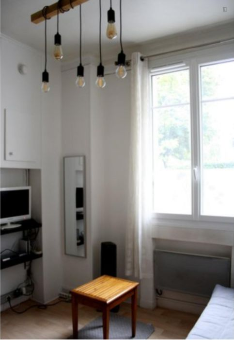 Homely studio in 19e - Buttes-Chaumont