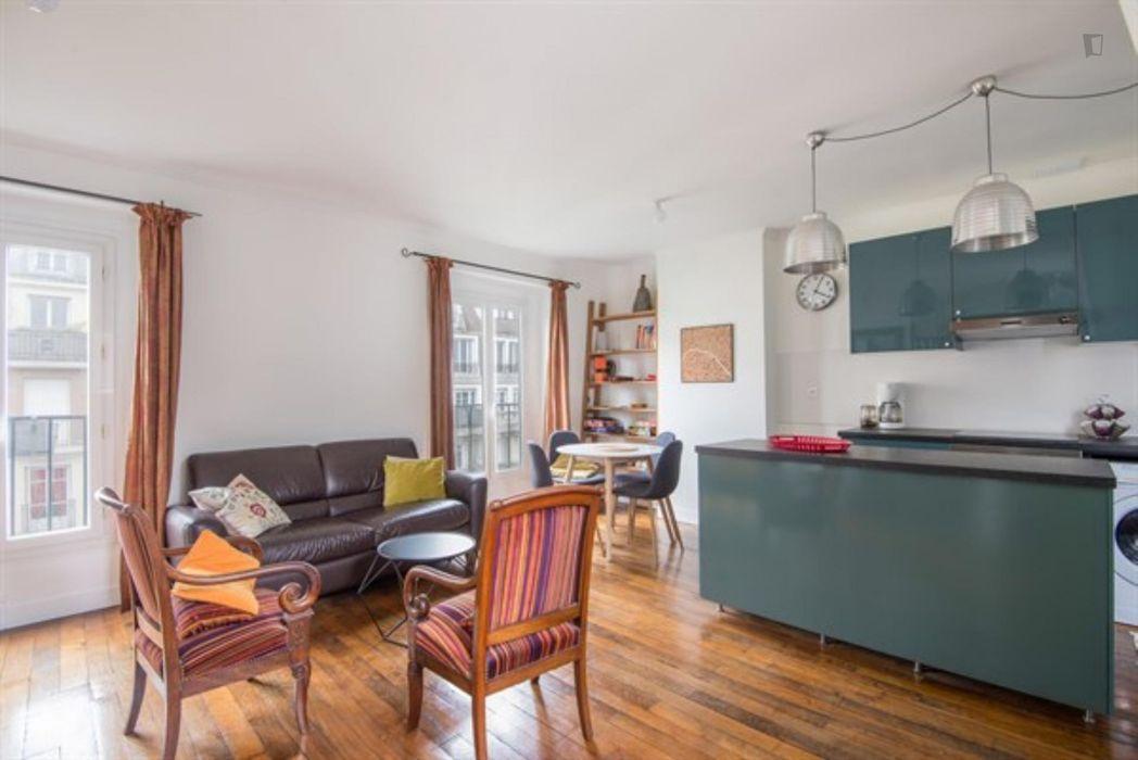 Superbe appartement de 2 pièces à Montmartre Paris 18ème