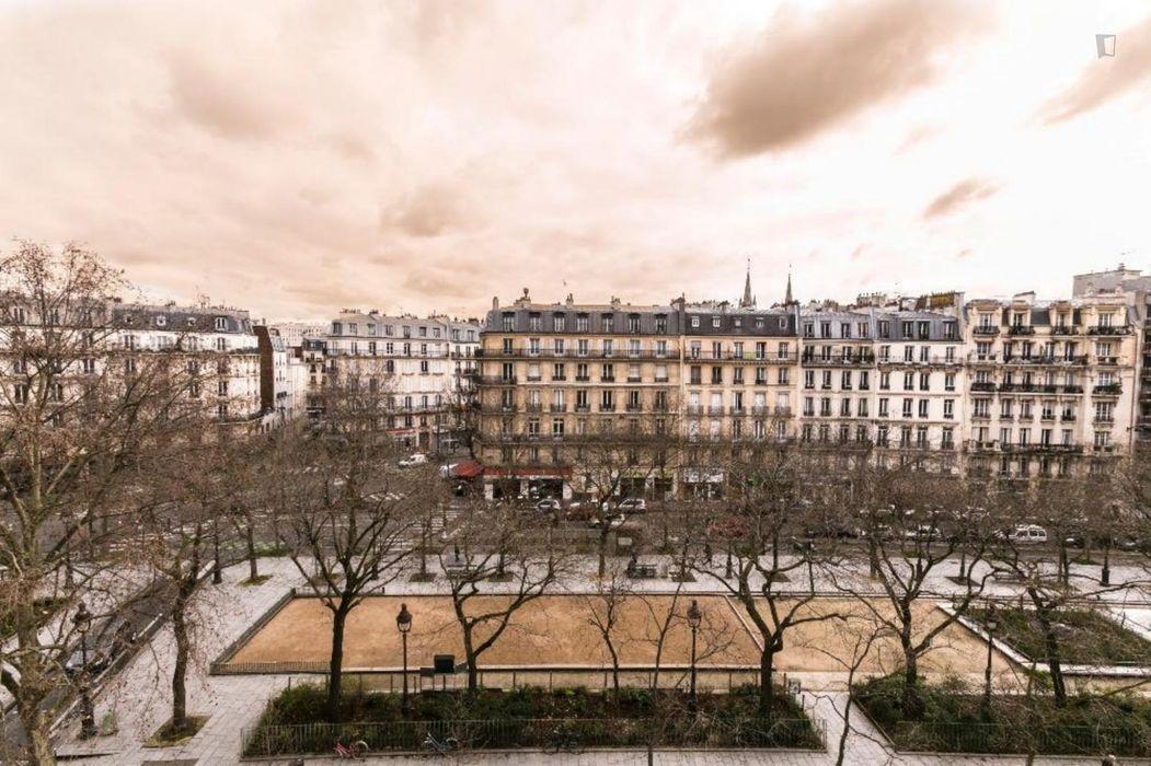 Delightful apartment near the Saint Ambroise metro