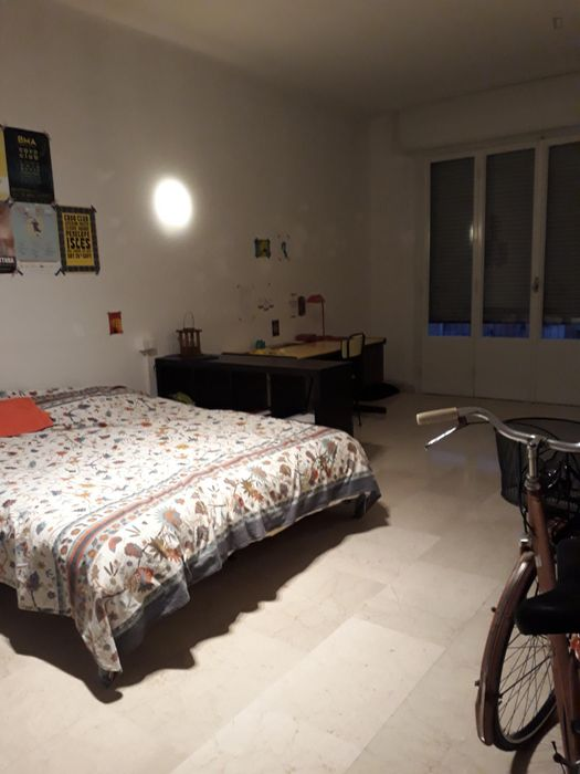 Nice double bedroom close to Bologna Centrale train station