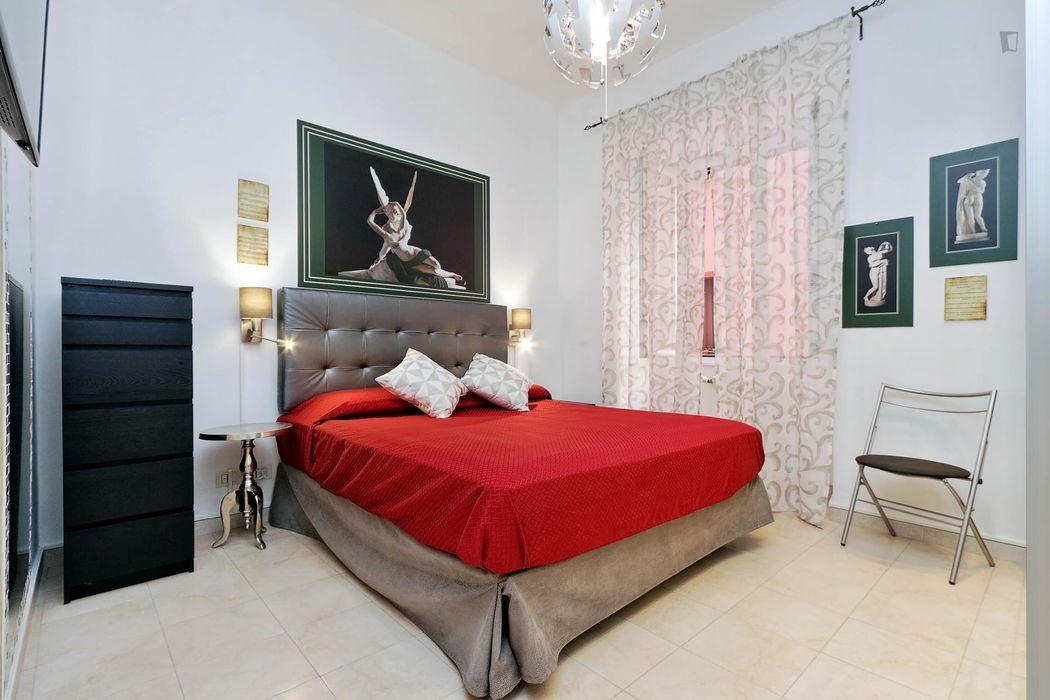 Modern 1-bedroom apartment near Ottaviano metro station