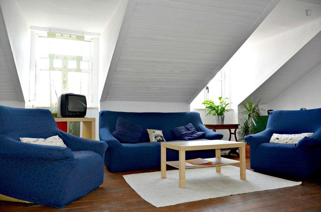 Nice single bedroom close to Instituto Superior Técnico University