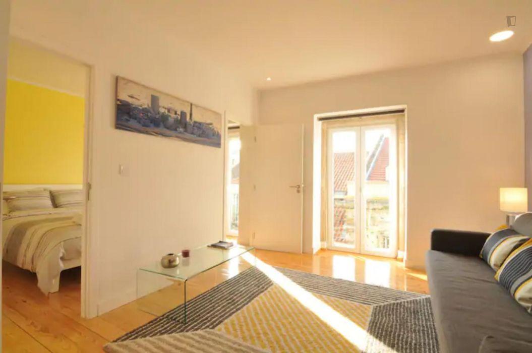 Amazing 1-bedroom apartment close to Cais do Sodré metro station