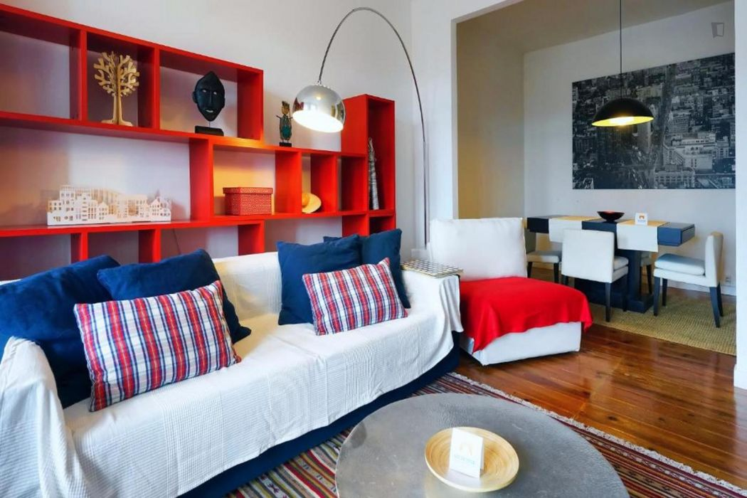Fabulous 2 bedroom apartment in Belém, close to transportations