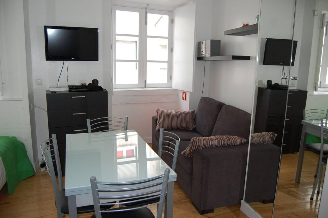 Great studio apartment close to Lisboa Santa Apolónia train station