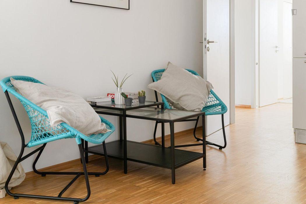 Comfortable double bedroom in Berlin
