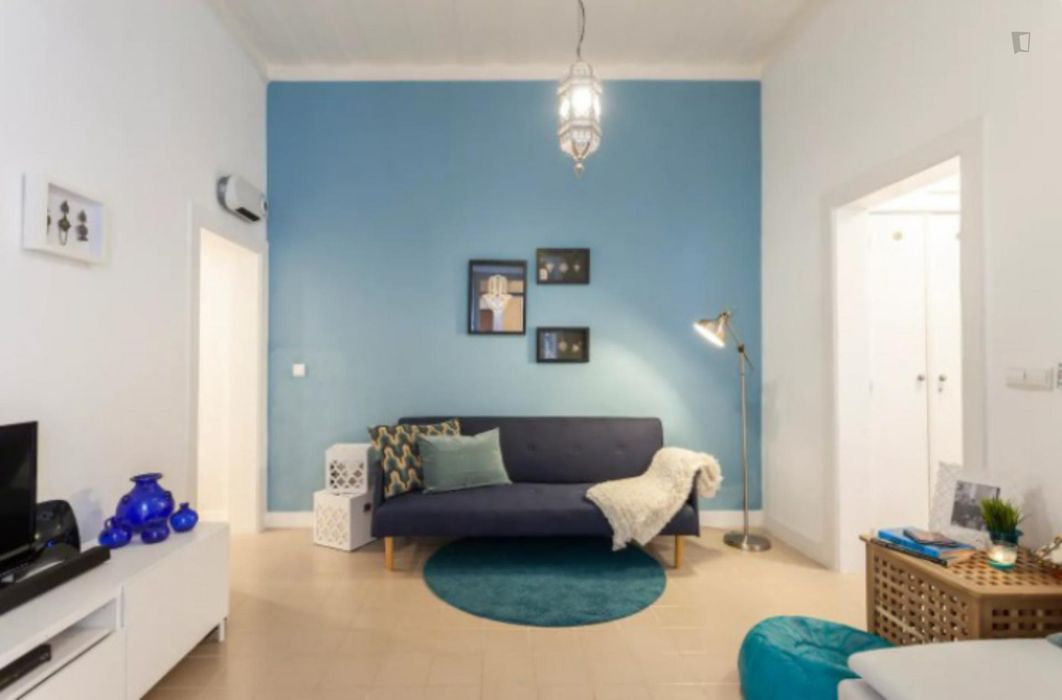 Amazing 1-bedroom apartment close to Terreiro do Paço metro station