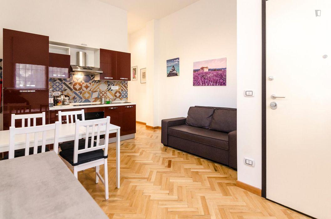 Charming 1-bedroom apartment near Parco della Montagnola