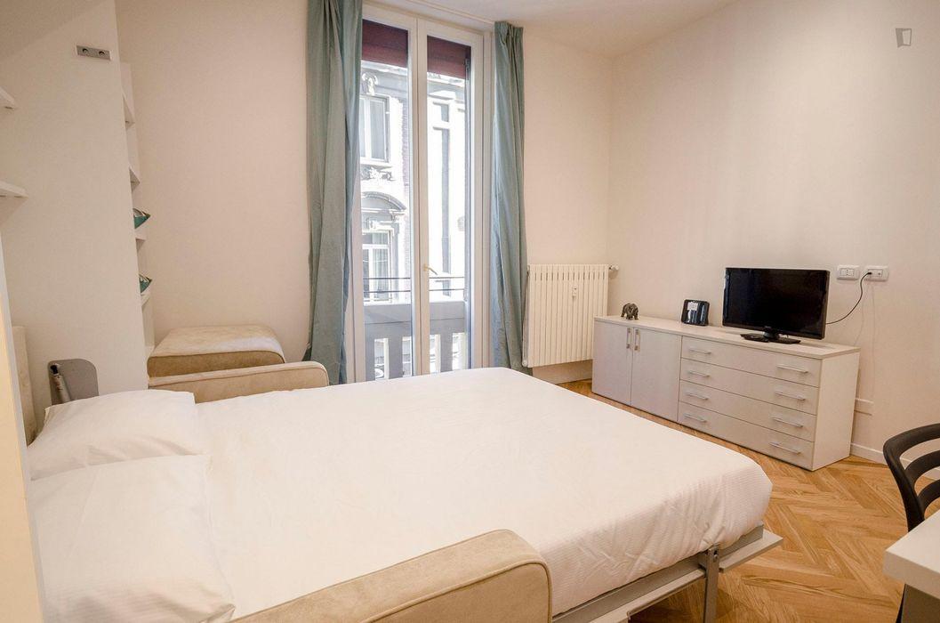 Cozy 1-bedroom apartment near Piazza Maggiore