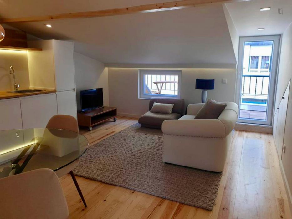Renovated 1-bedroom apartment around School of Agriculture - University of Lisbon