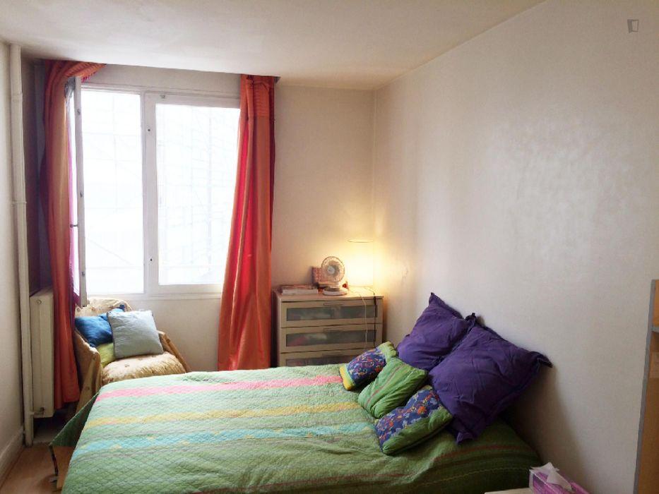 Cosy Double bedroom near Alésia metro station