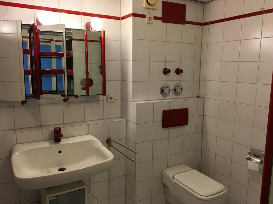 Double bedroom in a 4-bedroom apartment near Universität Hohenheim