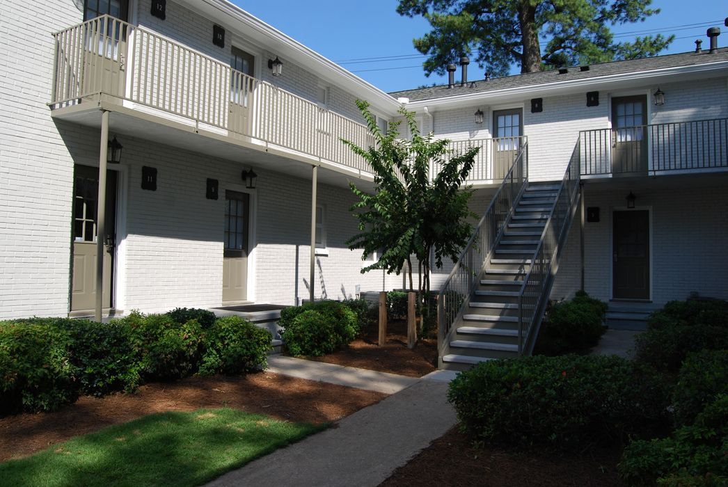 Student accommodation photo for Brookwood Courtyard in Georgia Tech, Atlanta