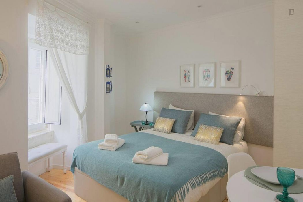 Great 1-bedroom apartment close to Martim Moniz metro station