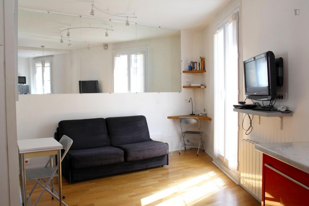 Nice 1-bedroom apartment near Universite Paris III Sorbonne Nouvelle