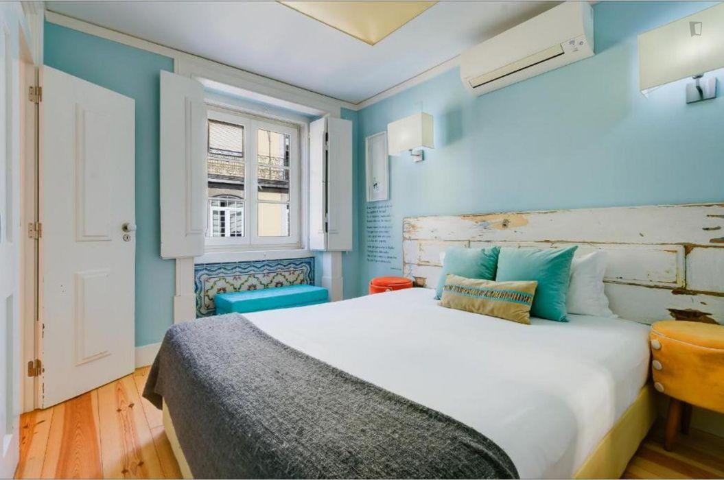 Lovely 1-bedroom apartment near Praça do Comércio