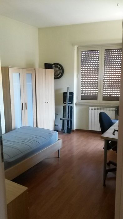 Lovely single bedroom around Giulio Agricola metro station